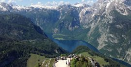 Vandreferie ad Saltstierne i Tyskland