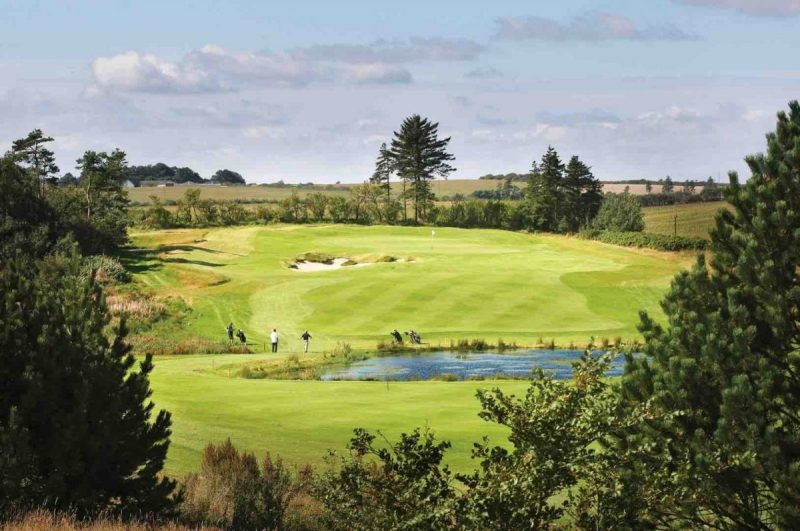 De bedste golfhoteller i Danmark