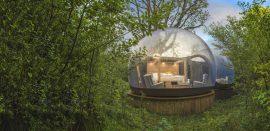 10 steder i Europa hvor du kan sove i en boble