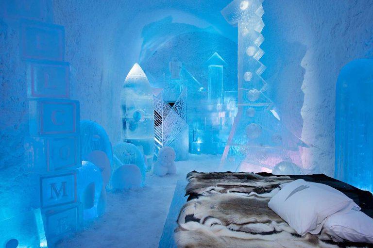 Cool indkvartering: Her er 9 hoteller, der er lavet af is
