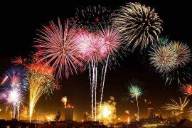 Rejs tilbage i tiden: Hop ind i det nye år to gange på samme aften
