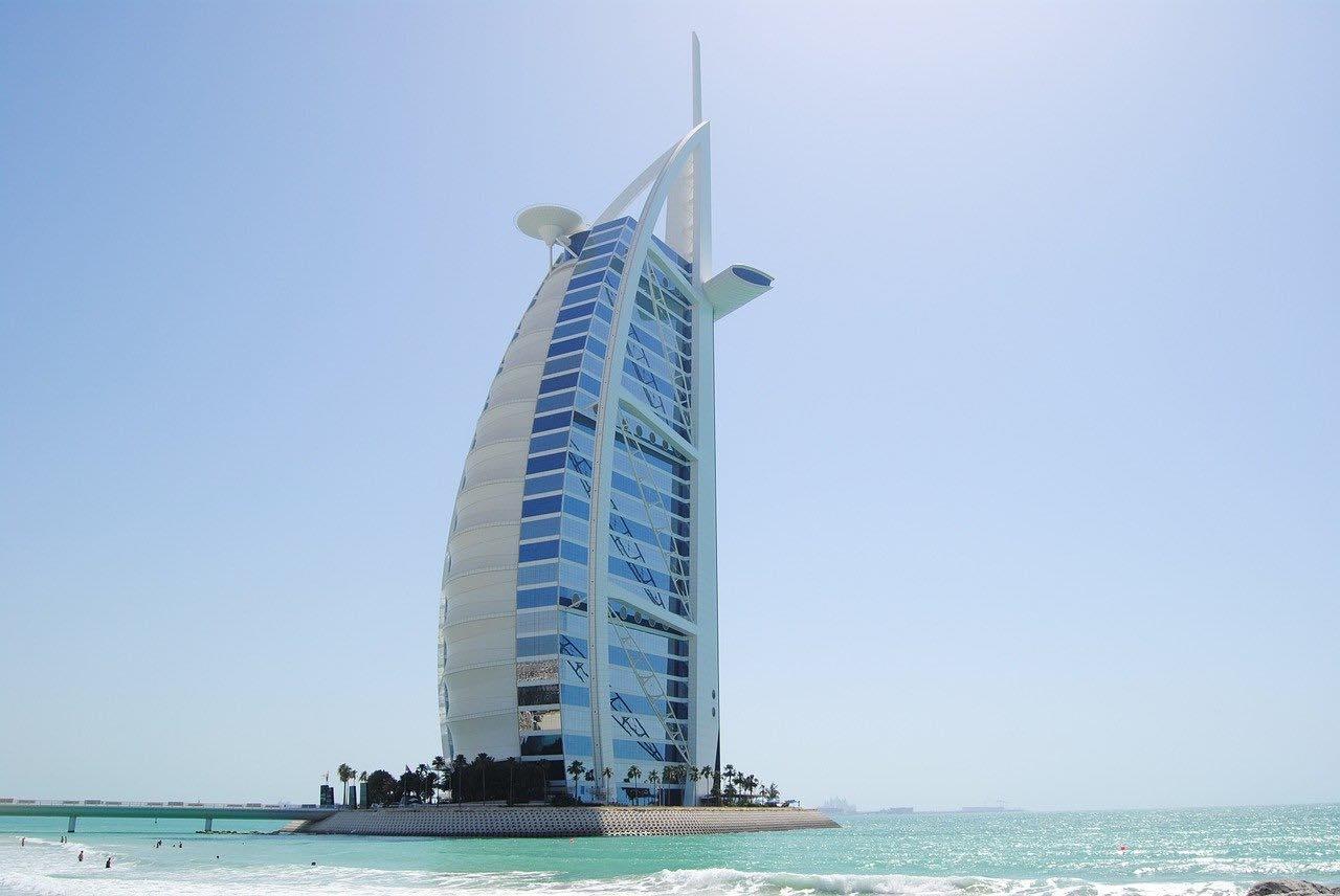 Alle 7-stjernede hoteller i verden
