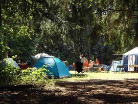 De 5 bedste campingpladser for aktive rejsende