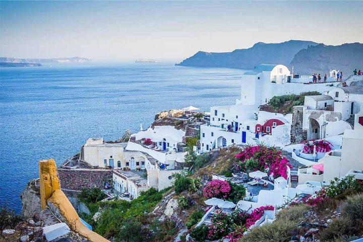 Romantiske Santorini