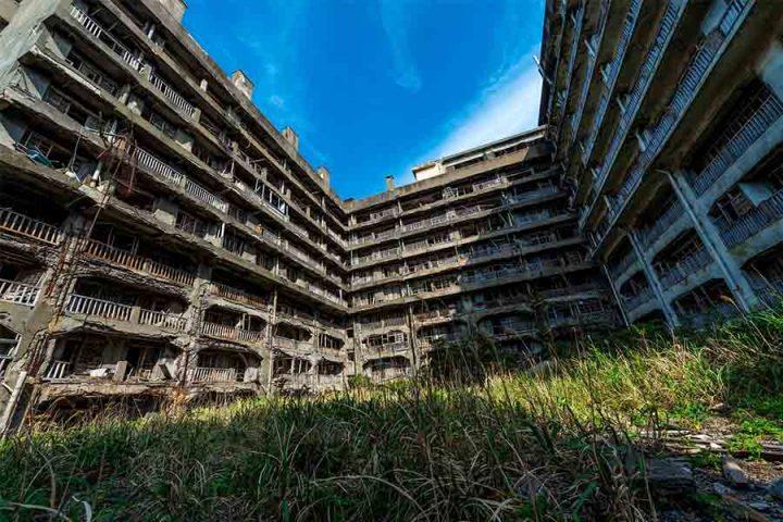 Hashima Island - Forladte steder i verden