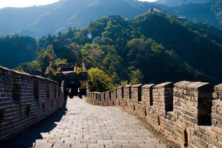 den kinesiske mur velbevaret