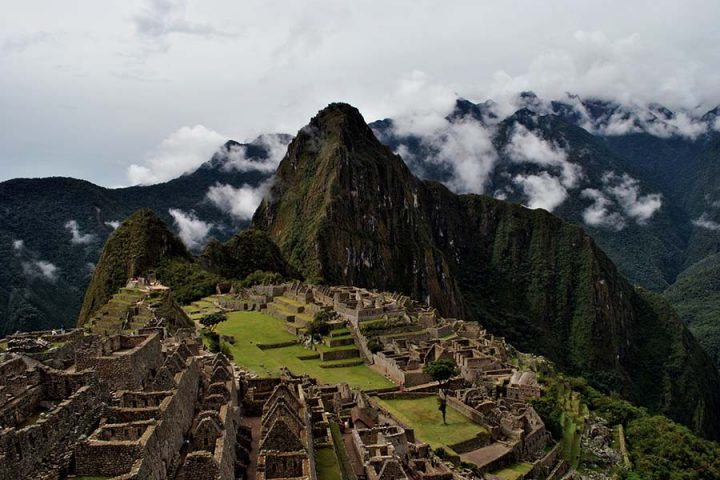 Inkabyen i Peru