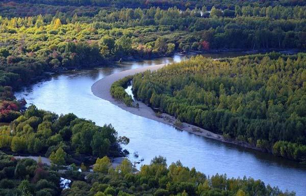 Længste floder - Amur–Argun–Kherlen