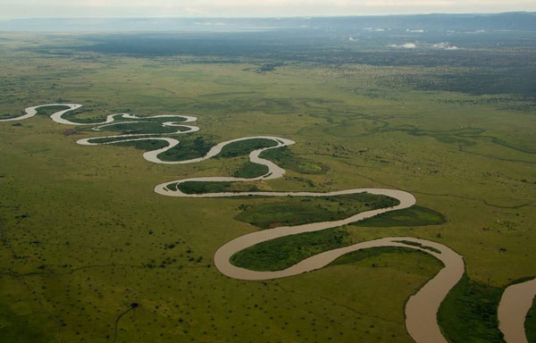 Længste floder - Congo-Chambeshi