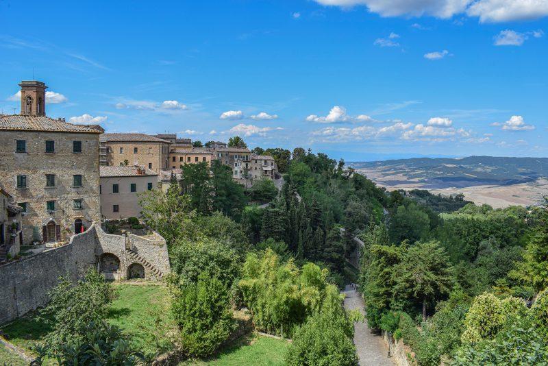 Vingårdsidyl i Italien