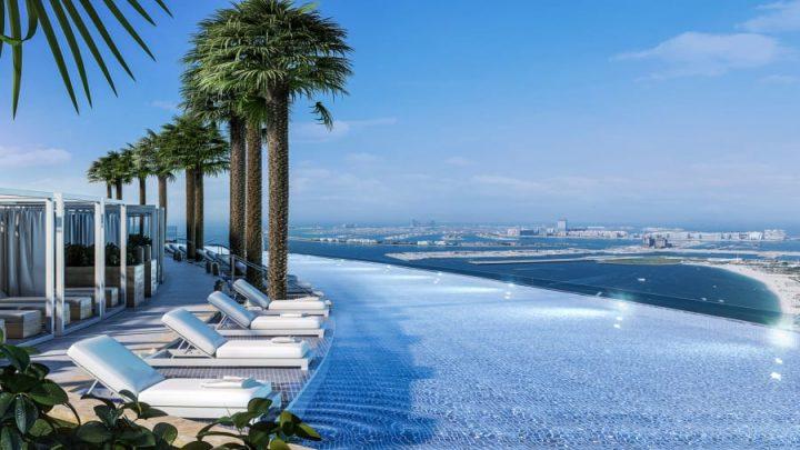 Address Beach Resort infinity pool