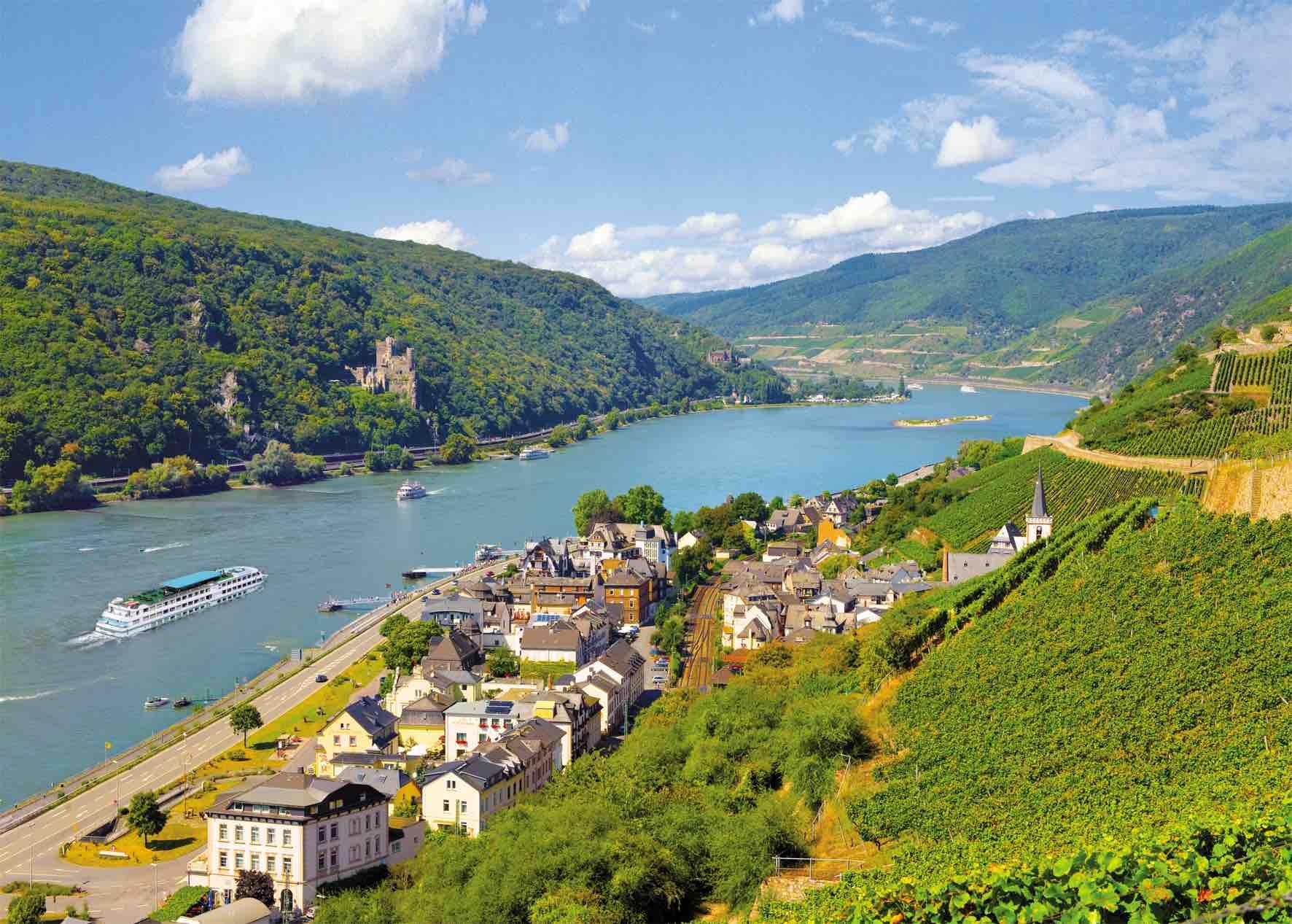 5 Skønne dage ved Rhinen på Hotel Zwei Mohren