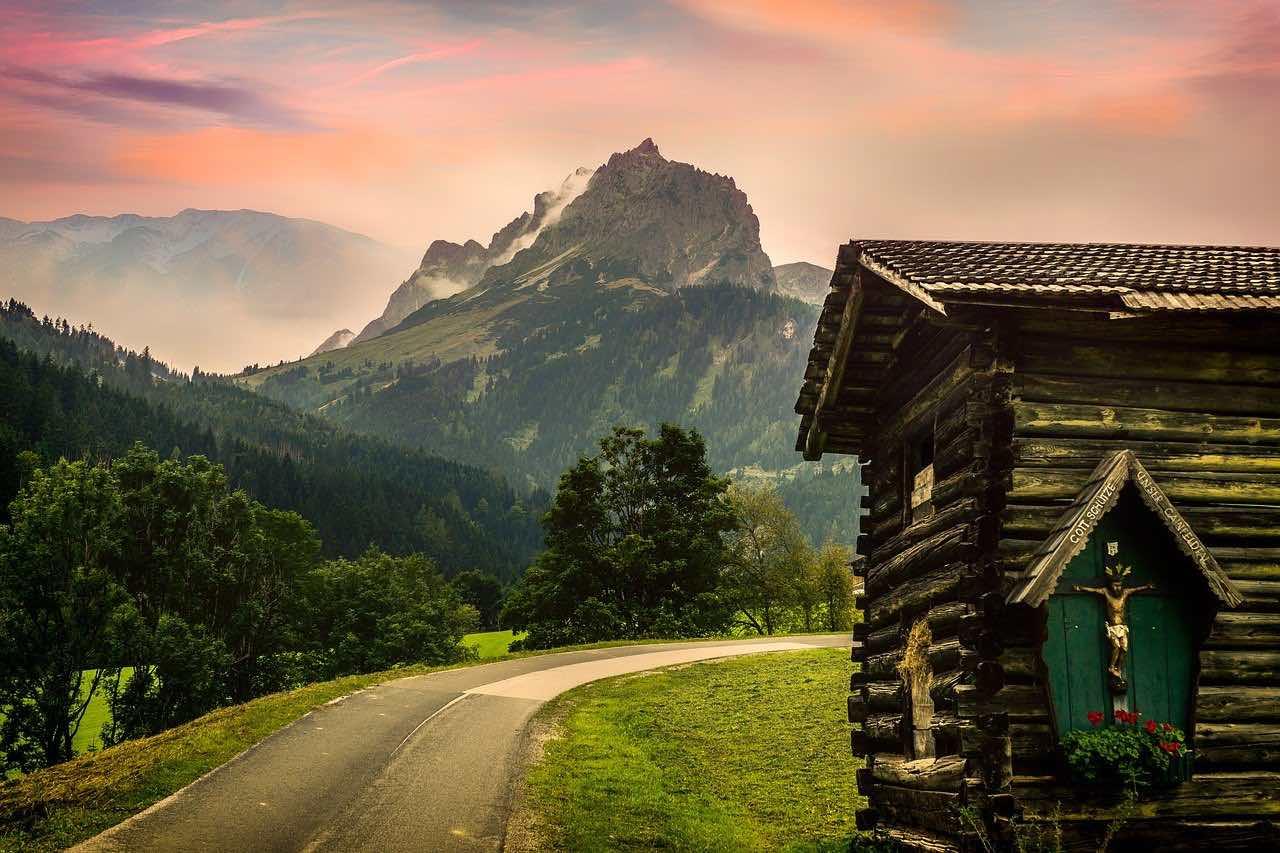 rejse til Østrig