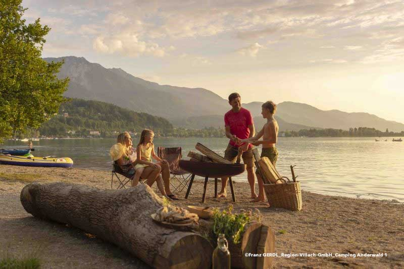 5 højdepunkter på en campingferie i Kärnten