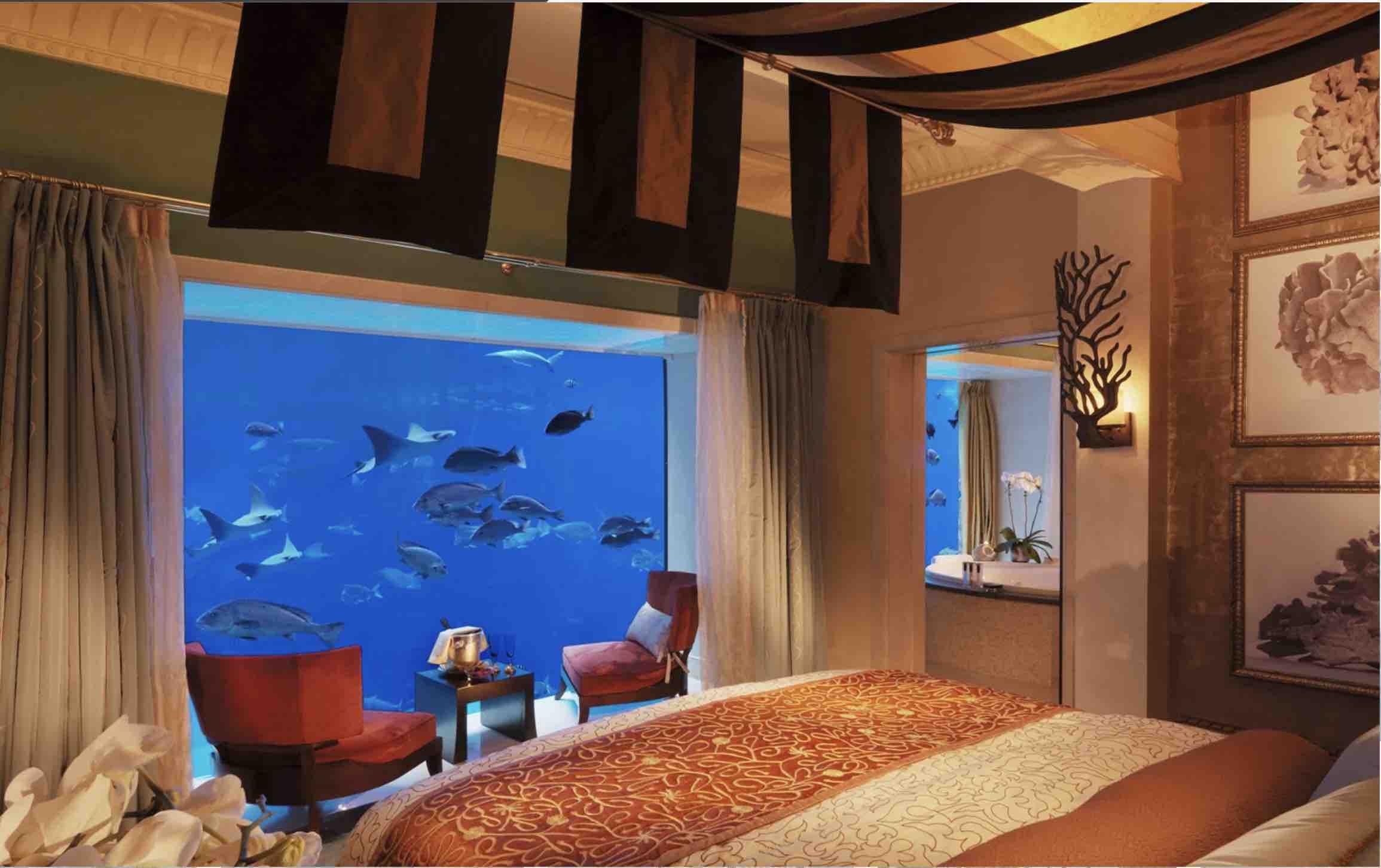 Verdens bedste undervandshoteller
