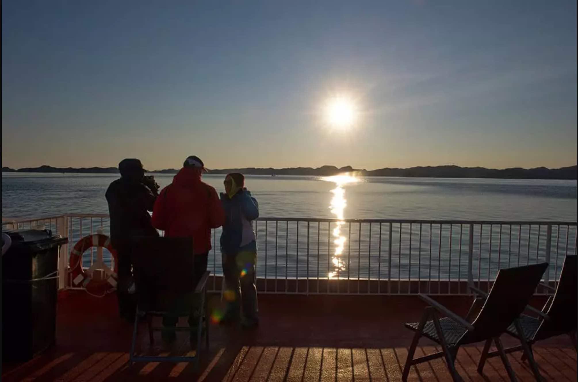 Midnatssol på Grønland
