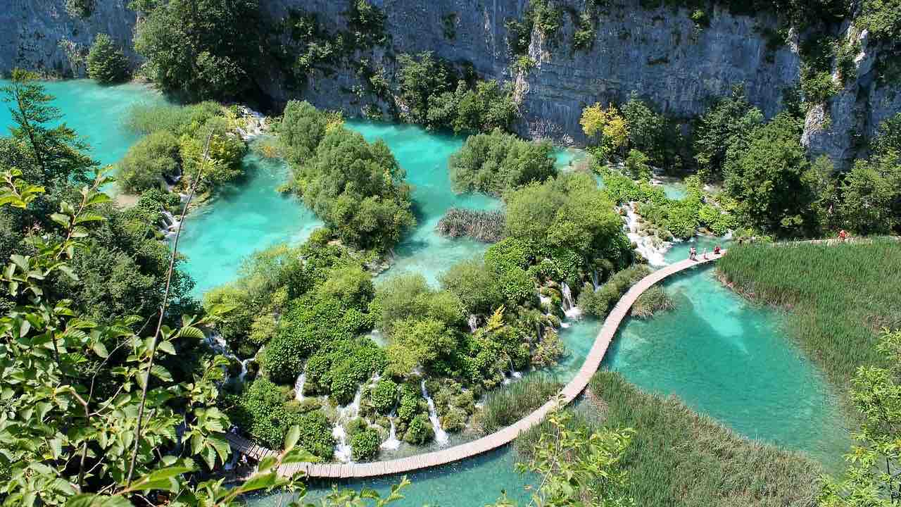 Europas ældste nationalpark: Plitvice Nationalpark i Kroatien