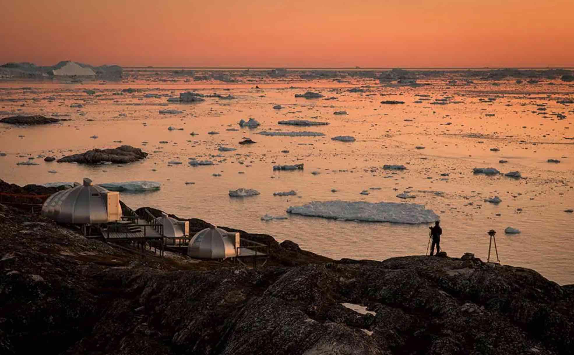 Rejs til Grønland – oplev særlige overnatningsmuligheder